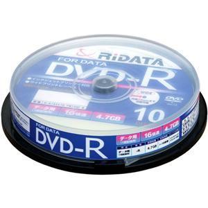 RiDATA DVD-R 16倍速 10枚組 D-R16X47G.PW10SP B