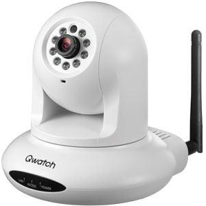 IOデータ Qwatch パンチルト暗視機能有無線LANネットワークカメラ TS-WPTCAM