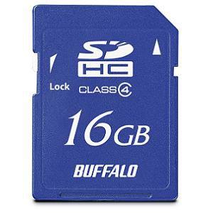 BUFFALO SDHC16GB CLASS4 MBRSDC16GC4