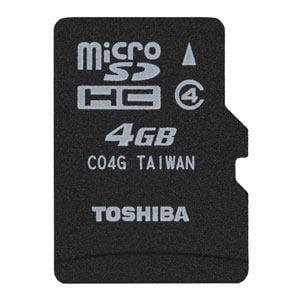 TOSHIBA microSDカード SDMK004G