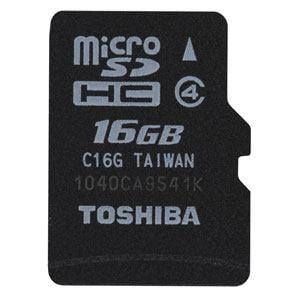 TOSHIBA microSDカード SDMK016G