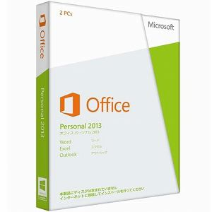Microsoft Office Personal 2013 32-bit/x64 Japanese Medialess