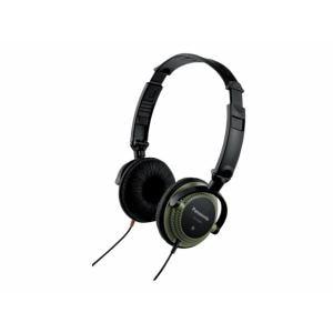 パナソニック RP-HB200-G ダイナミック密閉型DJヘッドホン (グリーン)