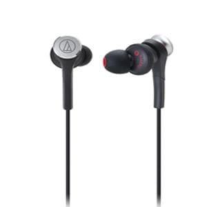 Audio-Technica インナーイヤーヘッドホン ATH-CKS77X BK