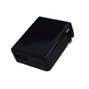 グルマンディーズ USB出力 AC充電器 ブラック AC-03BKBK