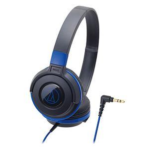 Audio-Technica ポータブルヘッドホン ATH-S100 BBL