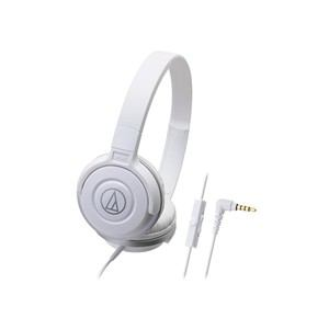 Audio-Technica スマートフォン用ポータブルヘッドホン ATH-S100iS WH