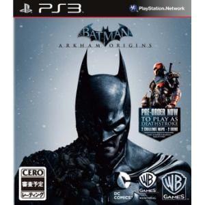 ワーナー 【PS3】 バットマン:アーカム・ビギンズ BLJM-61116