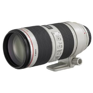 【クリックで詳細表示】Canon レンズ EF70-200F2.8LISU2