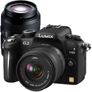 【処分品】 パナソニック デジタル一眼カメラ LUMIX DMC-G2W-K