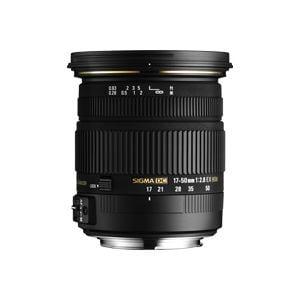 シグマ 交換レンズ 17-50 F2.8 EXDCOS
