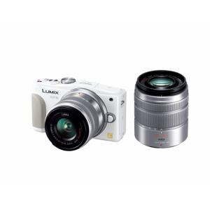 Panasonic デジタル一眼カメラ LUMIX GF6 ダブルズームレンズキット DMC-GF6W-W