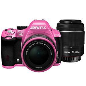PENTAX デジタル一眼レフカメラ PENTAX K-50 ダブルズームキット K50WKITPK