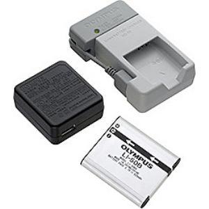 Olympus 予備バッテリー充電セット LI50B+UC50SET