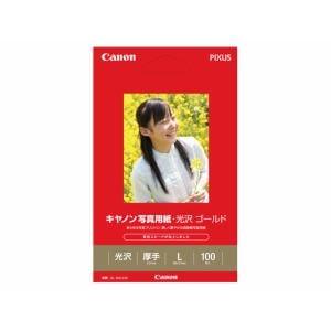 キヤノン 写真用紙・光沢 ゴールド L判 100枚 GL-101L100