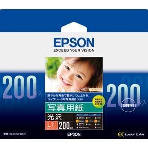 エプソン 写真用紙光沢 KL200PSKR