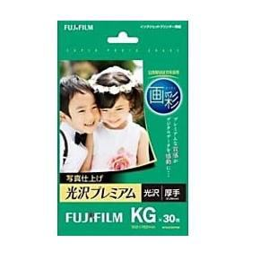 FUJI  FILM 写真仕上げ 光沢プレミアム KGサイズ/30枚入 WPKG30PRM