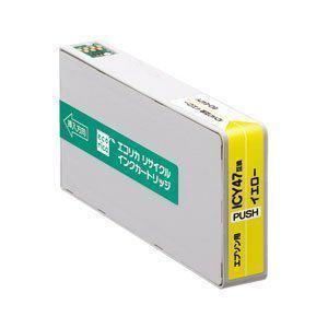 【クリックでお店のこの商品のページへ】ELECOM エコリカリサイクルインク ECIE47Y