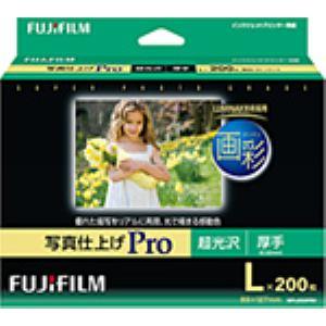 FUJI  FILM インクジェットペーパー 画彩 写真仕上げ Pro L 200枚 WPL200PRO