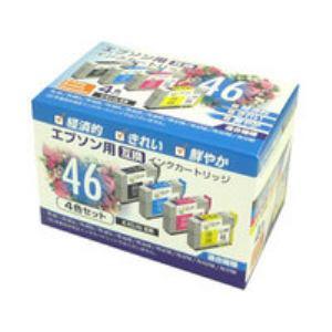 【クリックでお店のこの商品のページへ】エプソン用互換インク(4色セット) PPEIC464P