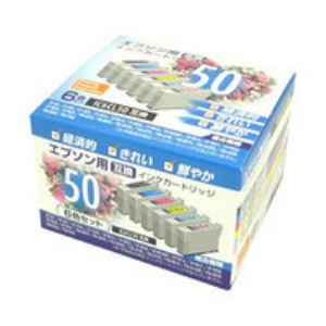 【クリックでお店のこの商品のページへ】エプソン用互換インク(6色セット) PPEIC506P