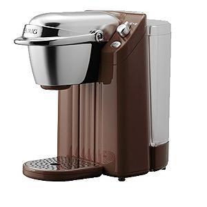 キューリグ・エフイー BS-200-T 「ネオトレビエ」専用カプセル式コーヒーメーカー ローストブラウン