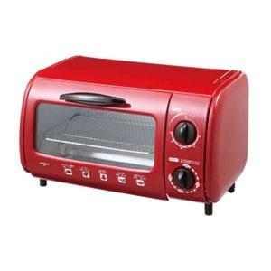 イズミ オーブントースター レッド OT42-R