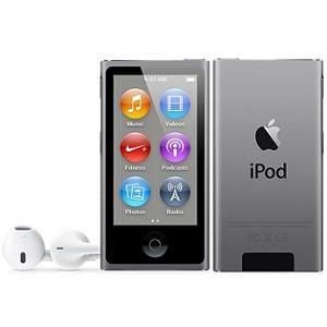 アップル iPod nano 7th 16G スペースグレイ ME971J/A