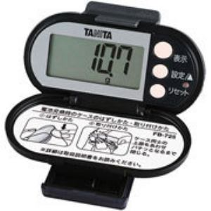 タニタ FB-725-BK 脂肪燃焼量付き歩数計(ブラック)