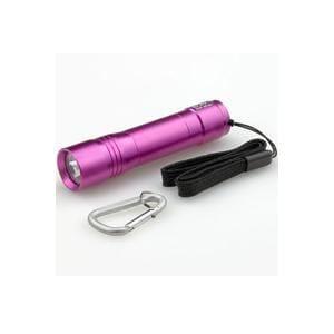 ELPA DOP-EP301 LEDカラーアルミライト ローズピンク