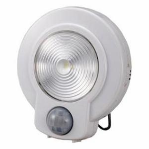 オーム電機 LEDセンサーライト NIT-L03M-W