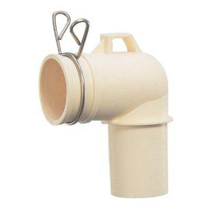 カクダイ 洗濯機排水トラップ用エルボ LS4372