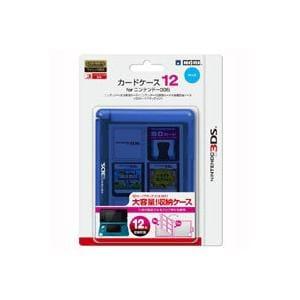 ホリ カードケース12forニンテンドー3DS ブルー 3DS-018