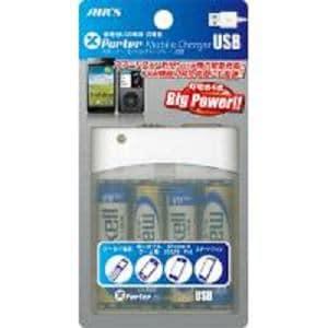 エアーズジャパン USBポート付乾電池式充電器 BJ-USB
