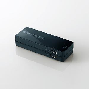 エレコム スマートフォン用 モバイルバッテリー/5200mAh/ブラック DE-M01L-1920BK