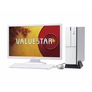 【クリックでお店のこの商品のページへ】NEC デスクトップパソコン VALUESTAR PCVL750NSW