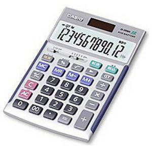CASIO 電卓 検算機能/税計算/12桁/5年間メーカー保証商品 JS20WKN