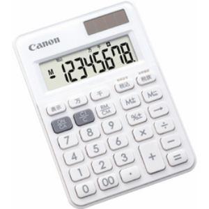 CANON キヤノン 電卓  LS-80TU-WH SOB LS80TUWH