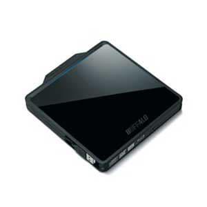 【処分品】 BRXL-PC6VU2-BKC  BDXL対応 USB2.0用 ポータブルブルーレイドライブ Wケーブル収納タイプ クリスタルブラック
