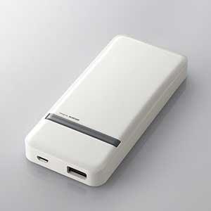 エレコム スマートフォン用モバイルバッテリー DE-M01L-5020WHWH