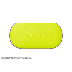 SONY PlayStation Vita ソフトケース ライムグリーン PCHJ-15022