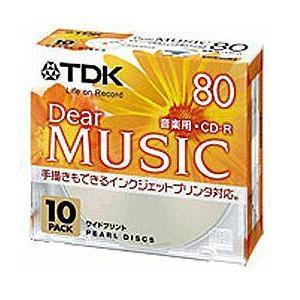 TDK CDRDE80PPX10N CD-R8010P