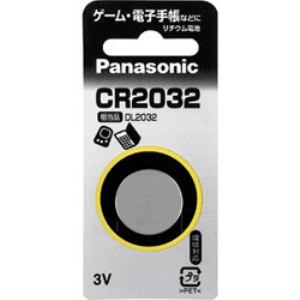 Panasonic コイン形リチウム電池 CR2032P