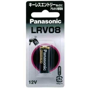 パナソニック 【アルカリ電池】 LRV08/1BP