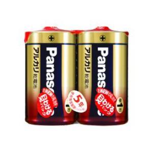 パナソニック アルカリ乾電池単1形2本パック LR20XJ/2SE