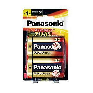 パナソニック 【単1形】アルカリ乾電池(2本パックブリスター) LR20XJ/2B