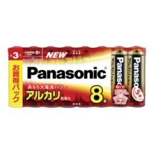 パナソニック アルカリ乾電池単3形8本パック LR6XJ/8SW
