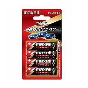 マクセル 【単3形】アルカリ乾電池「ボルテージ」(4本入り) LR6-T-4B