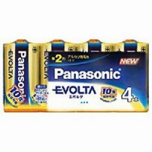 パナソニック 単2形 アルカリ乾電池 「エボルタ」 (4本入り) LR14EJ/4SW