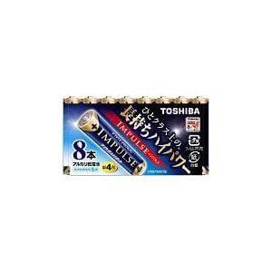 東芝 アルカリ電池 IMPULSE LR03H 8MP